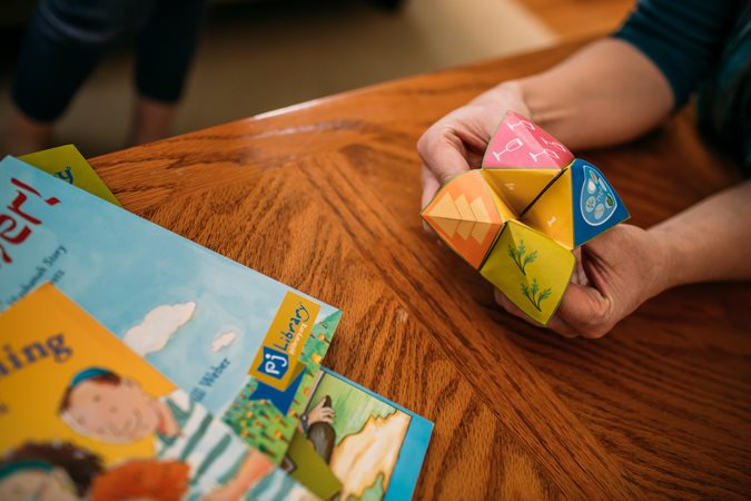 Pesach question catchers for kids